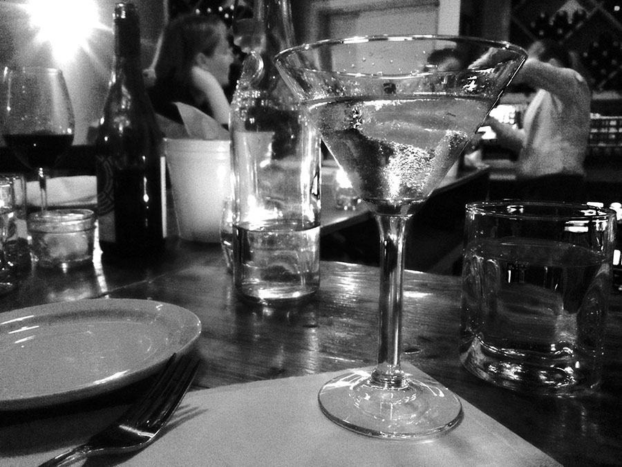tables on kearney martini