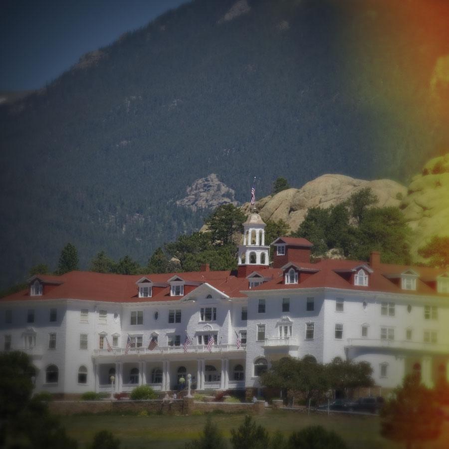 Stanley Hotel (a la Holga)