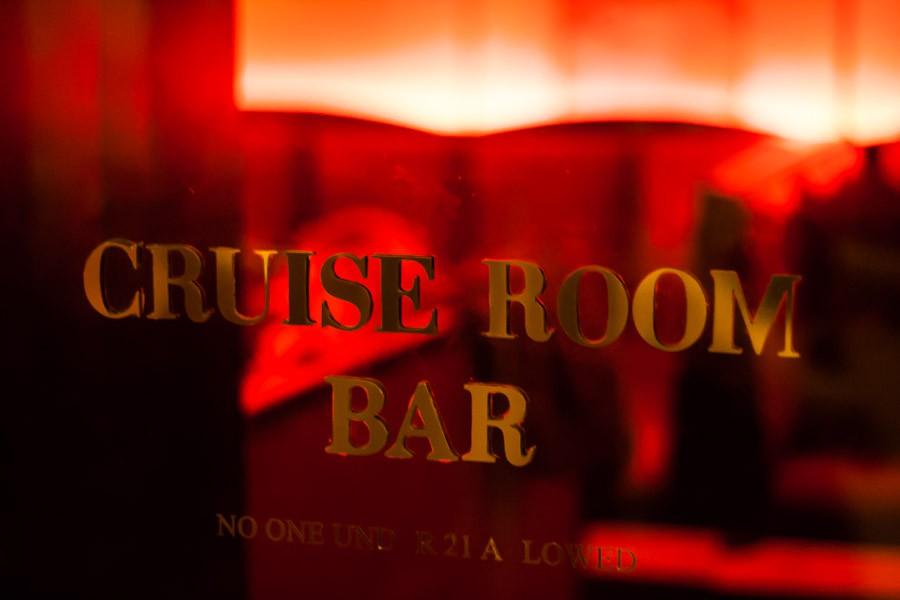 The Cruise Room Door
