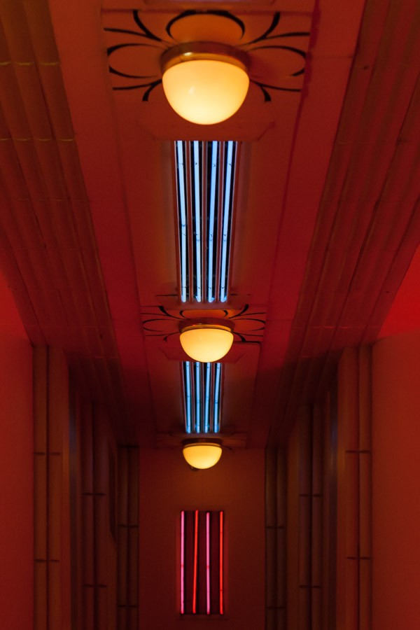 Neon Lighting - The Cruise Room