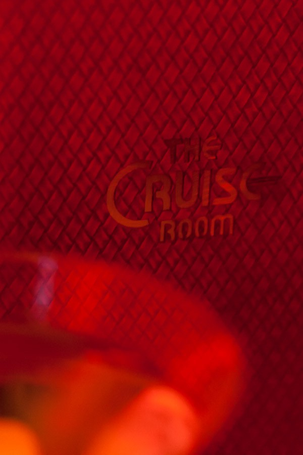 Bar Menu - The Cruise Room