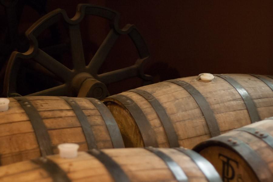 Barrels at Wynkoop Brewing Co.
