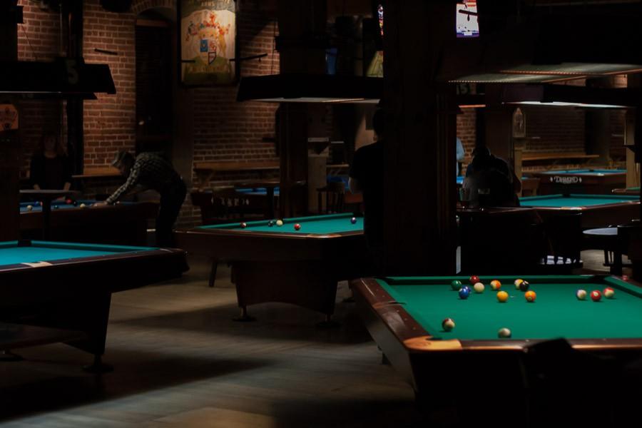 Haunted Pool Table Area - Upper Floor at Wynkoop Brewing Co.