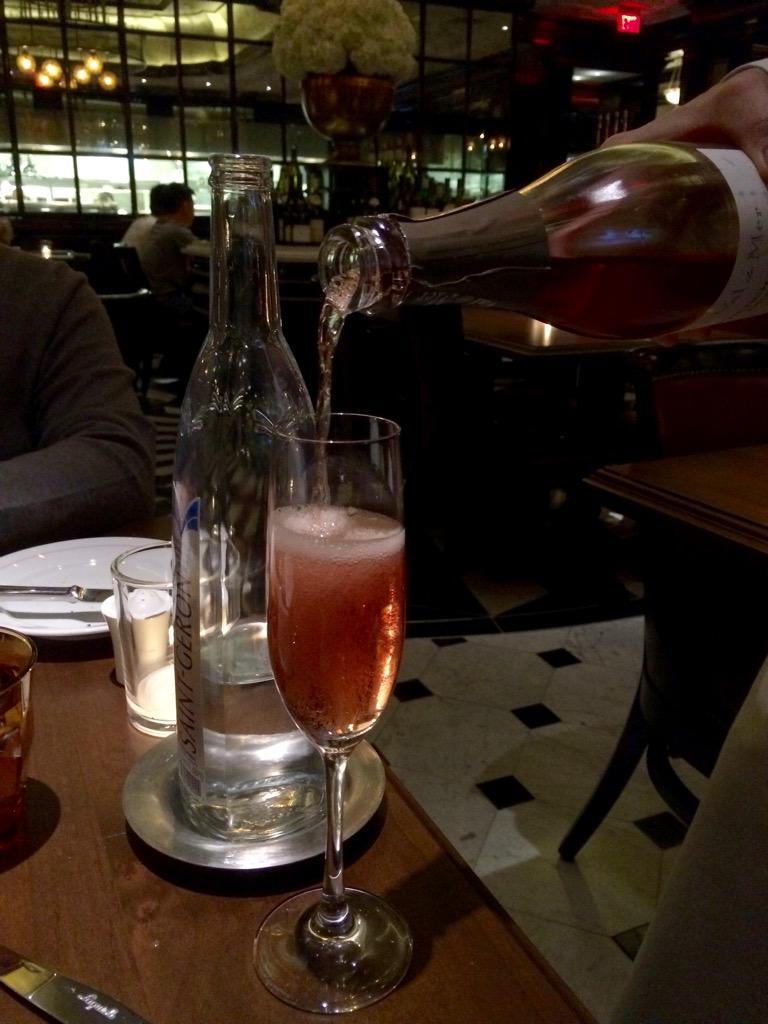 Champagne - Bardot Brasserie - Aria Las Vegas