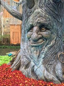 The Talking Tree - Conservatory At Bellagio Las Vegas
