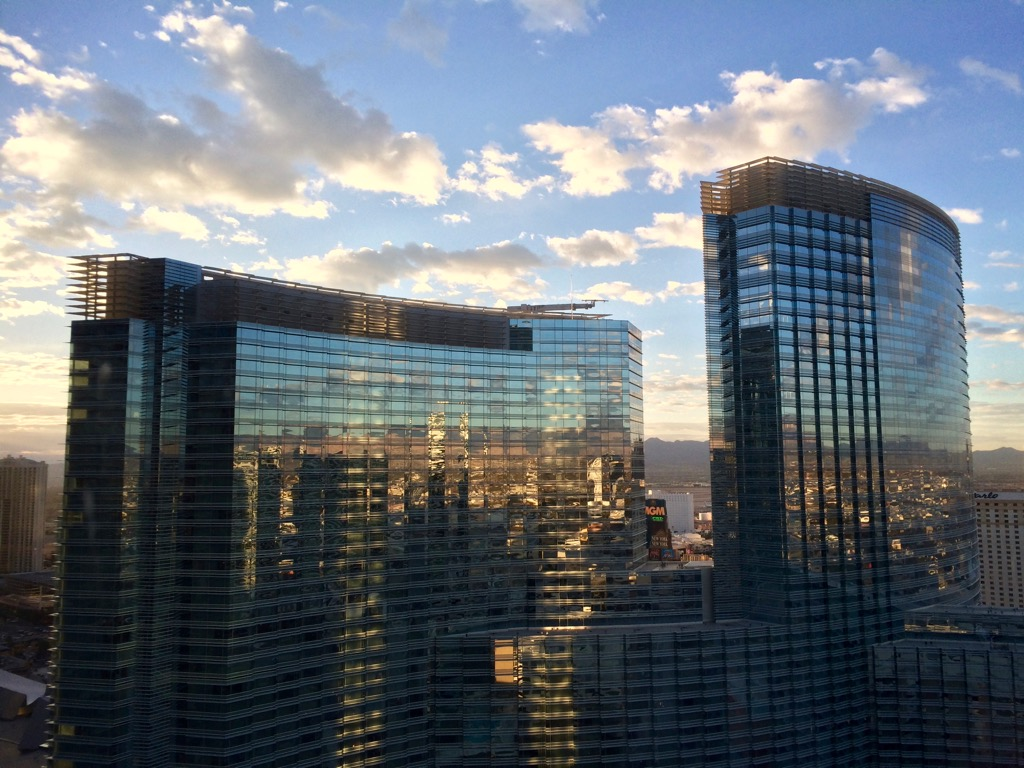 City Center View From Vdara Las Vegas