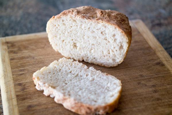 easy and fast white bread recipe