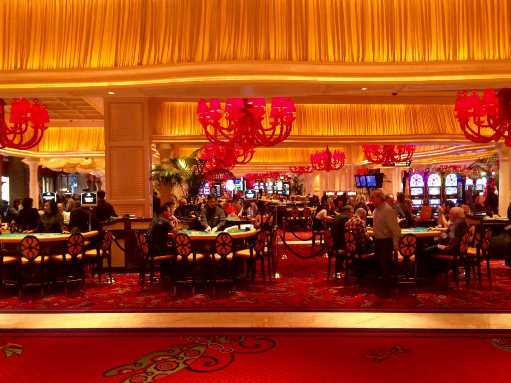 View From The Lobby Bar - Encore Las Vegas