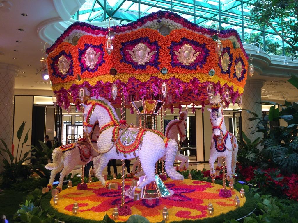 Floral Carousel - Lobby At Wynn Las Vegas