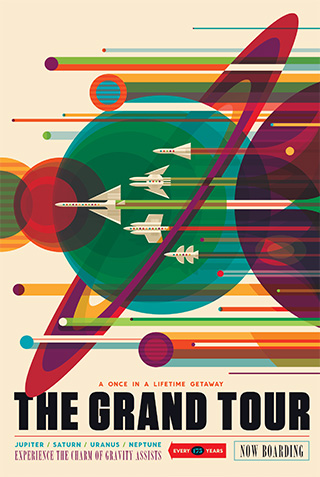 Space Age Retro-Style Posters From NASA – For Free!