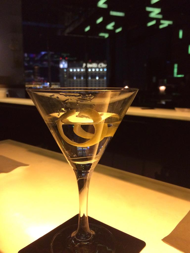 Martini At Mandarin Bar - Mandarin Oriental Las Vegas