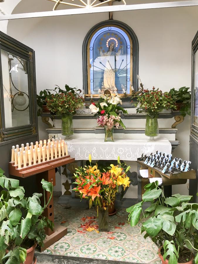 Shrine to Mary Sorrento Italy