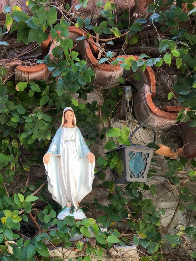 Tiny shrine to Mary Sorrento Italy