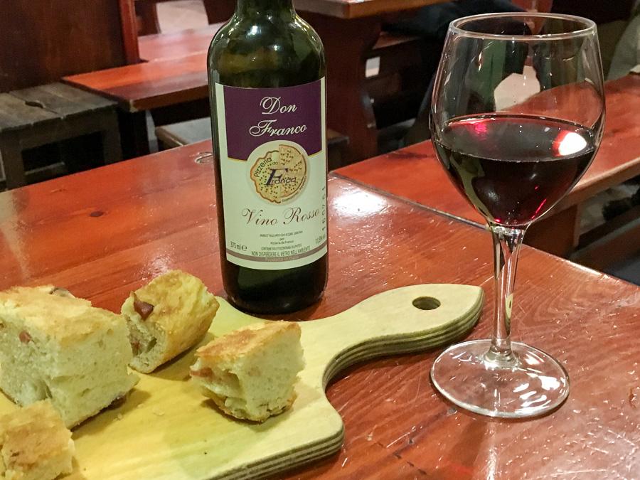 wine and bread pizzeria da franco sorrento