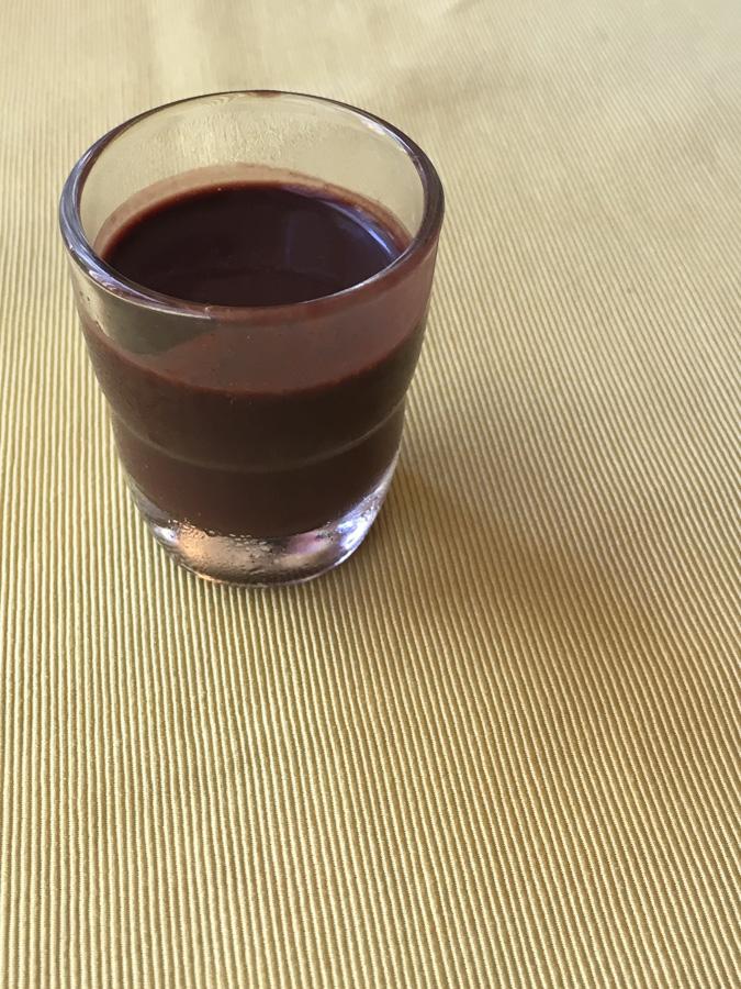 house made chocolate liqueur il leone rosso sorrento