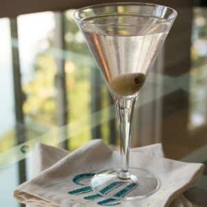 early evening martini